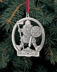 pewter ornament viking warrior