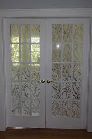 french door privacy curtains door decoration