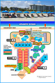 Map Of Hilton Head Island The Seacrest U2013 Oceanfront Villas
