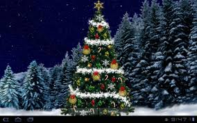 wallpaper christmas tree 1280 x 800 christmas santa claus