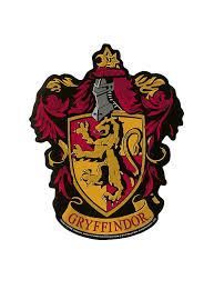 hogwarts alumni sticker harry potter gryffindor crest sticker hot topic