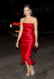 belle in a red dress dream hotel in hollywood 11 15 2017
