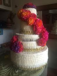 wedding cake pinata wedding cake pinata custom anniversary by poppinpinatasandmore