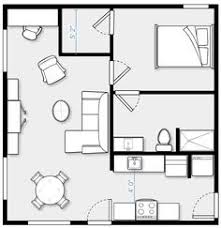 400 Sq Ft Apartment Floor Plan Two Bedroom 24x24 Plan Mostly Small Houses Pinterest Cabin