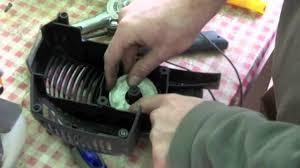 manutenzione di piccoli motori il decespugliatore candela e