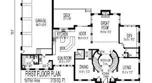 Five Bedroom House Plans 49 5 Bedrooms House Plans Circular Stair West Brookfield 5310 2
