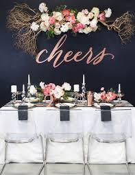 bridal shower table decorations 39 sparkling new year bridal shower ideas weddingomania