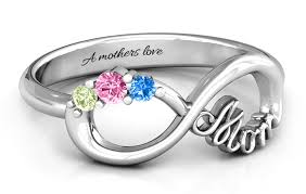 white gold mothers rings great gifts for jewlr