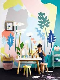 the case for using pattern in small spaces babies rooms murals