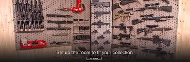wall mount gun hangers modular wall mount gun racks custom weapon display systems