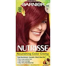 true hair garnier nutrisse nourishing hair color creme 66 true