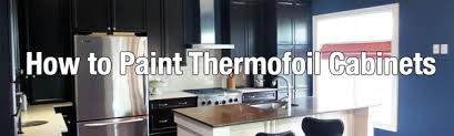 Thermofoil Cabinet Refacing How To Paint Thermofoil Cabinets Jpg