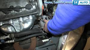 how to install remove change power steering belt 1996 00 1 6l