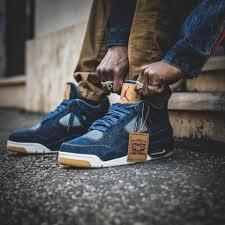 Nike Levis levi s x nike air 4 retro 2018 sweetsoles sneakers