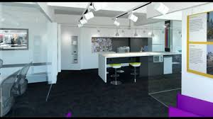 office interior design animation 3ds max youtube