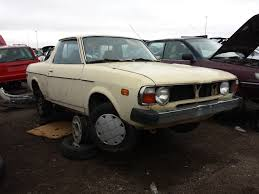 subaru brat 2014 junkyard find 1979 subaru brat the truth about cars