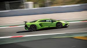 Green Lamborghini Aventador - lamborghini aventador sv 2015 review by car magazine