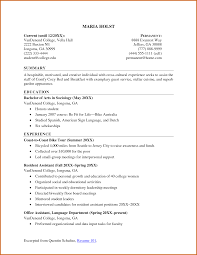 Resume Examples For College Students With Work Experience by Sample Resume Objective For College Student