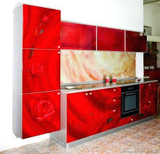 pictures of red kitchen cabinets red kitchen cabinets putokrio me