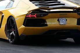 New Lamborghini Aventador - scoop is lamborghini testing new aventador sv at the u0027ring