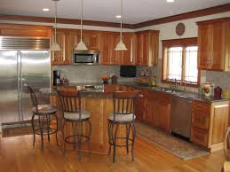Cherry Wood Kitchen Cabinets by Natural Cherry Wood Kitchen Cabinets Roselawnlutheran
