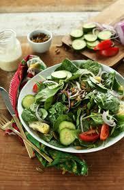 Garden Vegetable Salad by Creamy Spinach Salad Minimalist Baker Recipes