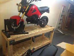 motorcycle lift table plans homemade motorcycle table lift