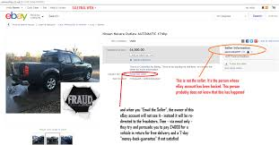 nissan finance uk ppi ebay scam nissan navara outlaw fe56cnj fraud fe56 cnj 18 jan 15