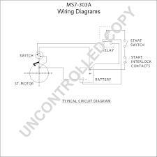 ms7 303a starter motor product details prestolite leece neville