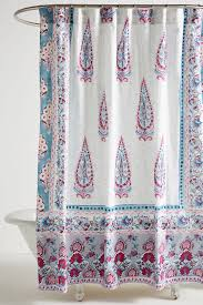 shop unique u0026 boho shower curtains anthropologie