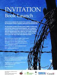 Launch Invitation Card Sample The Aicw Remembers Books Coming March 2012