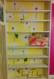 Lilly Pulitzer Furniture by Lilly Pulitzer Themed Bookshelf Faux Finish Decorative