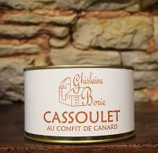 ghislaine cuisine cassoulet au confit de canard foie gras ghislaine borie