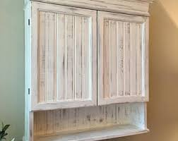 Bathroom Wall Cabinets White Bathroom Wall Cabinet Etsy