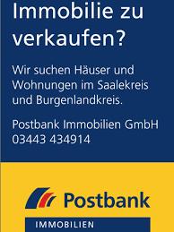 Immobiliensuche Postbank Immobilien Gmbh Claudia Schmidt In Weißenfels