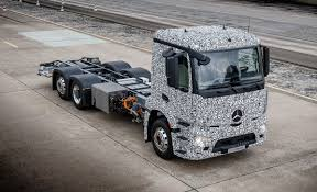 mercedes jeep truck mercedes benz shows all electric heavy truck prototype u2013 news