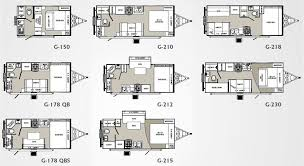 truck campers we show all 4 floorplans for the bigfoot 1500