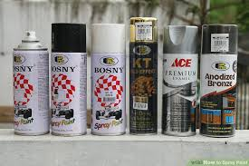 how to spray paint 14 steps with pictures wikihow