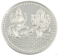 buy 925 silver purity 10 gram silver coin khannajewels
