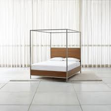Bed Frame Canopy Beds Headboards Find The Best One For You Crate And Barrel