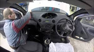 2004 toyota yaris top dash removal youtube