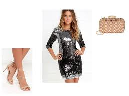 silver new years dresses new years guest grybee