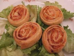cuisine rapide soir mini roulés au jambon un deux trois petits plats