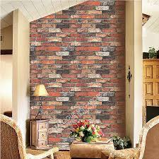 brick wall effect wallpaper on wallpaperget com
