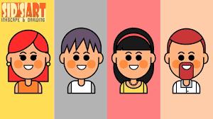 tutorial vector c how to draw cartoon vector avatars 1 inkscape tutorial youtube
