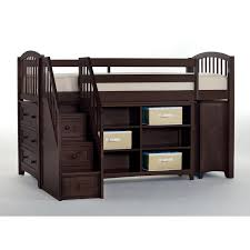 White Bedroom Chest Of Drawers By Loft Ne Kids House Chocolate Storage Junior Loft Bed With Stairs