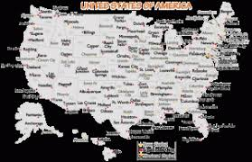 united states major cities map united states major cities and capital cities map travelquaz