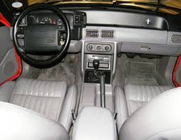 86 Mustang Gt Interior 1993 Ford Mustang Cobra A Great End To A Long Run Old Car Memories