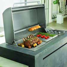 Built In Bbq Signature Proline Hooded 6 Burner Stainless Drop In Bbq