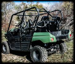 kawasaki teryx 4 rear bench seat by utv mountain accessories t4rbs
